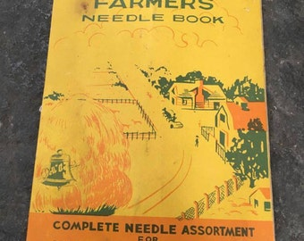 Vintage | Farmers Needle Book