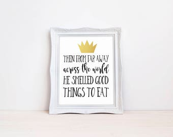 "Where The Wild Things Are Birthday Party 8""x10"" DIGITAL DOWNLOAD Printable 