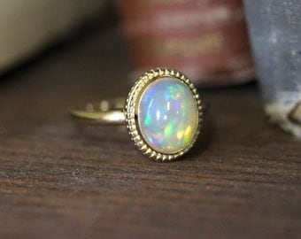 Opal Cocktail Ring, The Emma Ring from The Elizabeth Henry Collection 88XM5W-P