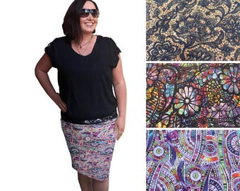 Custom Pencil Skirt (D-premiumplus)