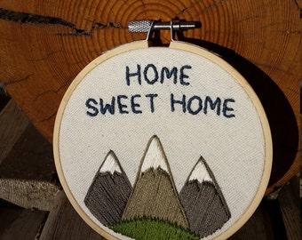 Home Sweet Home - Mountains