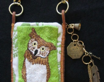 Green Woods Owl
