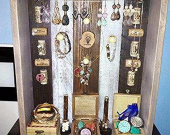 Precious jewel box of wall Aministrador of jewelry decoration
