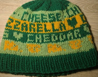 Cheese Lover's Knit Hat