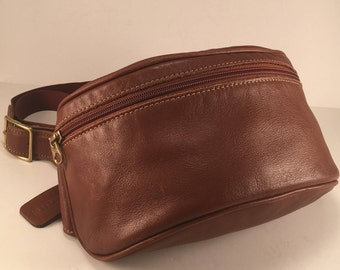 Coach Bag / Vintage Coach Bag / Rare Vintage Coach Leather Waist Bag / Coach Belt Bag / Rare Coach Bag