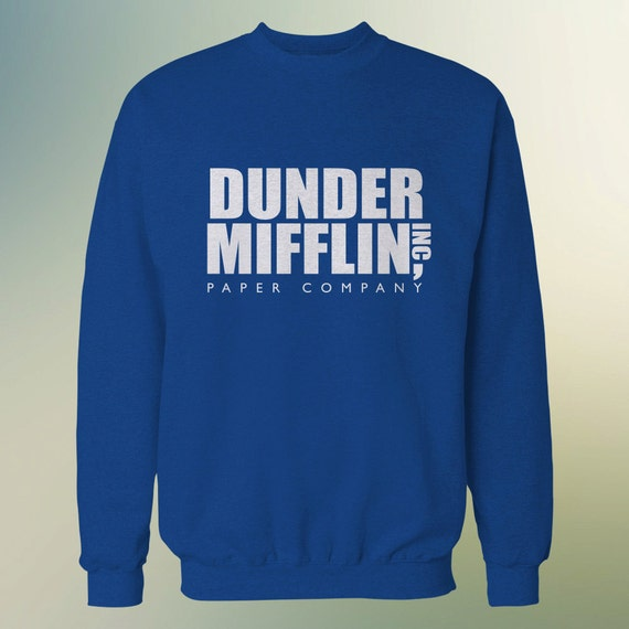 "The Office TV Show ""Dunder Mifflin Inc"" Sweater S-3XL Available"