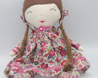 Frou Frou manufactured hand cloth doll