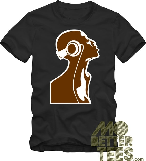Soul Music black T-Shirt Afrocentric Neo Soul Jazz Underground Deep