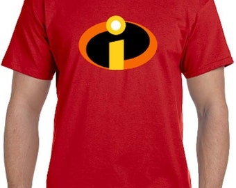 The Incredibles Cosplay Parody T-Shirt * Lots of colors* Sizes Newborn - 6XL* Ladies Sizes  * Special AUTISM Awareness Edition Available