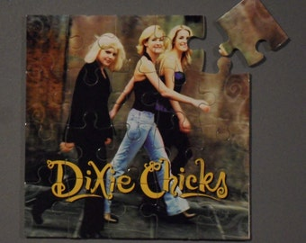 Dixie Chicks CD Cover Magnetic Puzzle