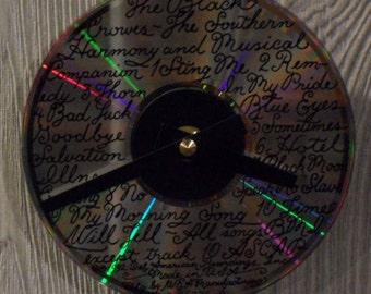 Black Crowes CD Clock