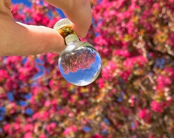 Crystal Ball Chandelier Hanging Light Fixture Lamp Finial