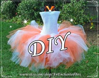 DIY BB-8 STARWARS Inspired Princess Dress Kit, Girls Dressup Gown, Flower Girl for Disney Theme Wedding, Tutu Costume, Full Skirt, Star Wars