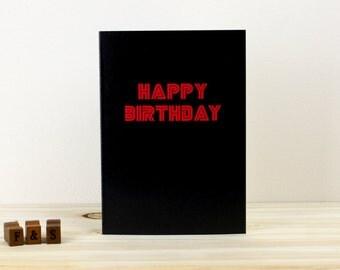 Mr Robot Birthday Card   Mr Robot Card   Happy Birthday Card