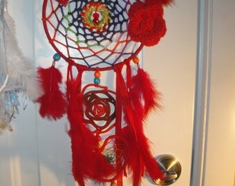 A Rose For My Lady dreamcatcher