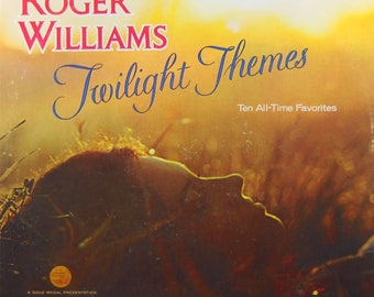 Twilight Themes by Roger Williams  - Vintage LP Record