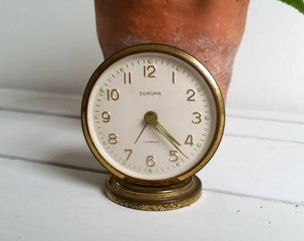 Vintage little clock 'Europa'