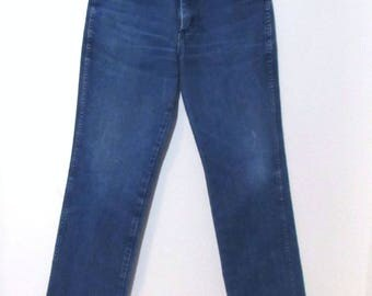 Wrangler 28 / 4  High Waist , 1990s, Distressed Straight Leg,  Mom Jeans