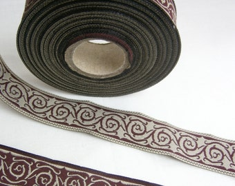Celtic Trim, Jacquard Lace, Woven Trim for Medieval and Renaissance, French Hood