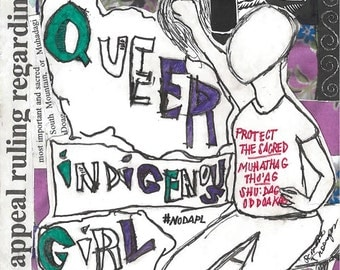 Digital - queer indigenous girl issue 2