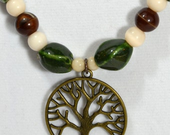 Tree of Life necklace and bracelet
