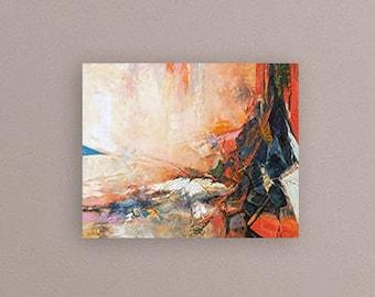 Oil Painting Landscape, Abstract Landscape Art, Canvas Art, Art Painting, Abstract Landscape Painting, Canvas Oil Painting, Red Painting,