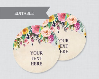 EDITABLE Tent Cards Printable Green Wedding Tent Cards