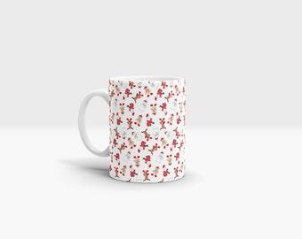Santa Christmas Mug. 11oz Ceramic Mug.
