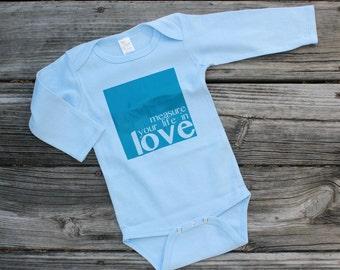 Measure Your Life in Love Bodysuit// RENT Infant Bodysuit// Broadway Baby Bodysuit// Seasons of Love Bodysuit