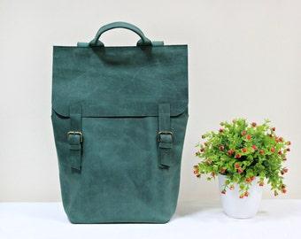 Backpack for her, leather rucksack, handmade rucksack, laptop backpack, minimalist backpack, leather backpack, women backpack, rucksack