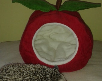 Apple hedgehog house bed small animal guinea pig