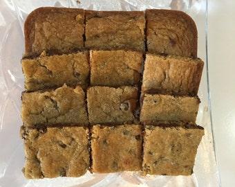 2 Dozen Homemade Chocolate Chip Cookie Bars ~ Gluten Free Option ~ DELICIOUS!