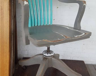 1940s Bankers/Desk Chair with a modern flair.