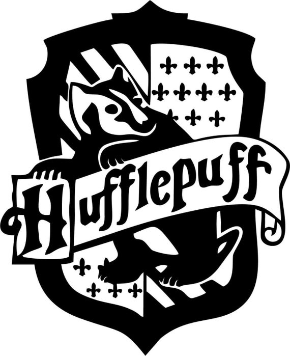 Vinyl Decal Sticker - Hufflepuff House Decal for Windows, Cars, Laptops, Macbook, Yeti, Coolers, Mugs etc