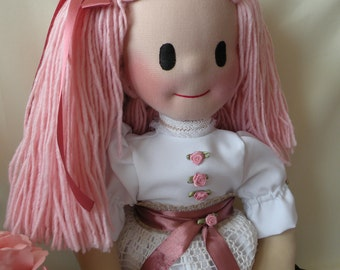 Carola by Malina Dolls - New Unique Handmade Doll
