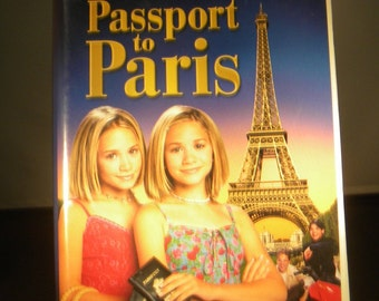 Mary-Kate & Ashley Olsen's Passport to Paris VHS; VHS Tape; Collectible; Olsen Twins