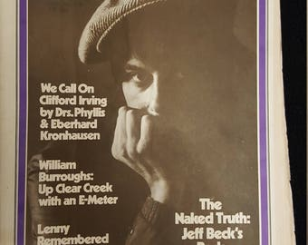 Rolling Stone Magazine #120 26/10-1972 The naked truth.