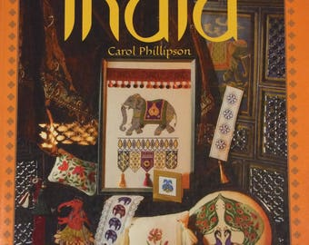 Cross stitch designs from India by Carol Phillipson