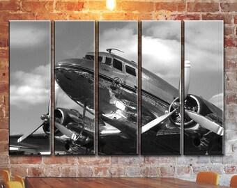 Airplane Wall Decor airplane wall art | etsy