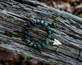 ABUNDANCE | Aromatherapy Gemstone Diffuser Bracelet