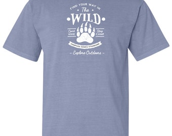 The Wild Adventure Comfort Colors T-Shirt