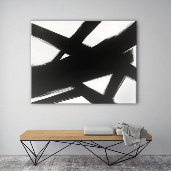 Black White Slash No. 4