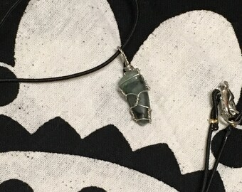 Hand-Wrapped Emerald Necklace