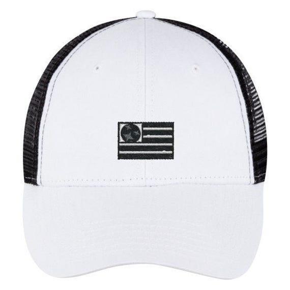 The Capitol Company 'USA' Trucker//Nashville Southern Activewear- Black/White