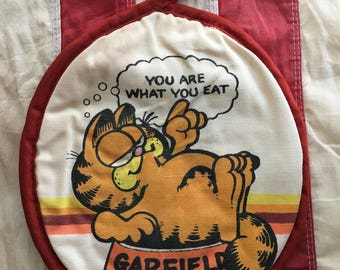 1978 Original Vintage Garfiled the Cat Pot Holder Jim Davis