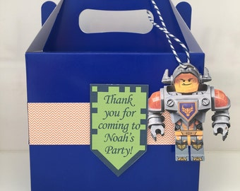 Lego Nexo Knight Party Favour Bag