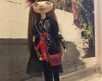 "Textile doll ""Sonya"""