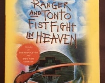 The Lone Ranger & Tonto Fist Fight in Heaven, Sherman Alexie, Clayton Moore, Jay Silverheels,American Indian,Spokane Indian reservation,Book