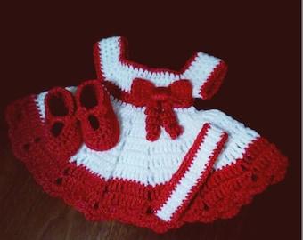 Newborn Dress and Accessories