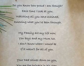 Heartfelt personalised poetry is the only gift that speaks truly from your  heart. No two poems are the same.